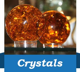 Amber Crystals